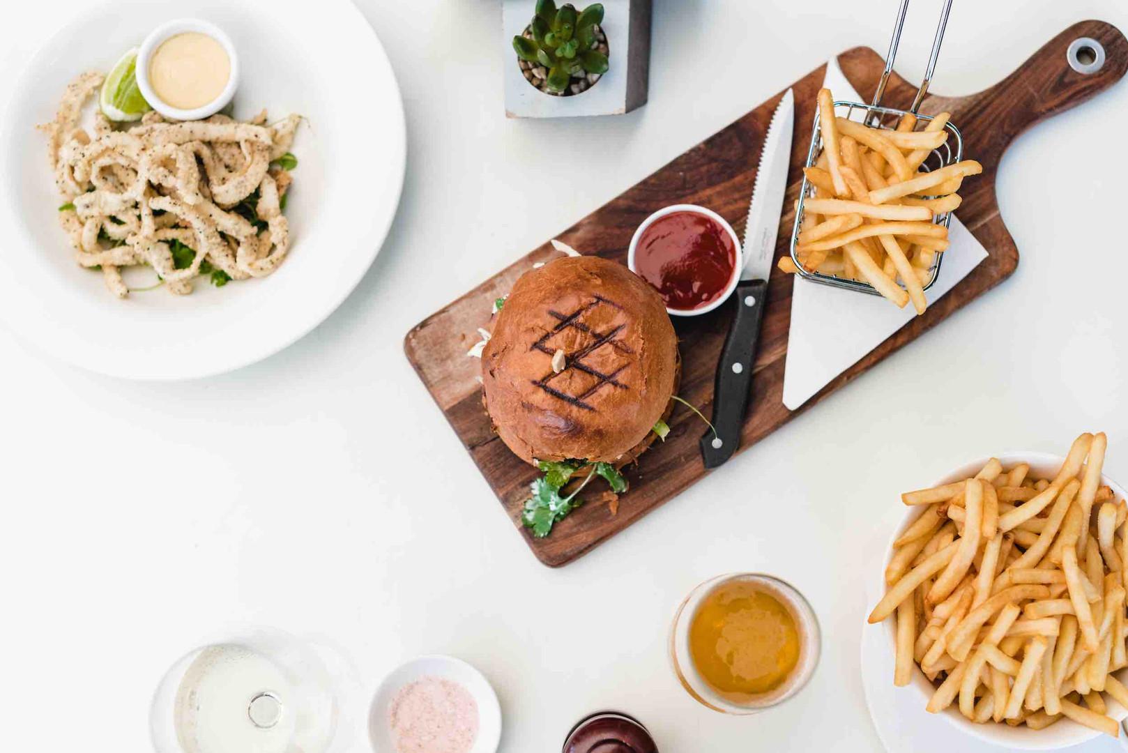Ambassador Grill, Palm Beach - Burger and Fries