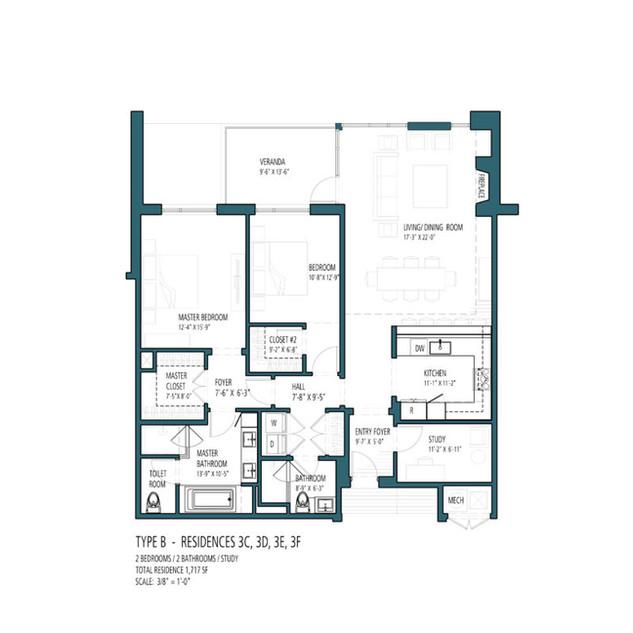 HV Type B - Residences 3C 3D 3E 3F