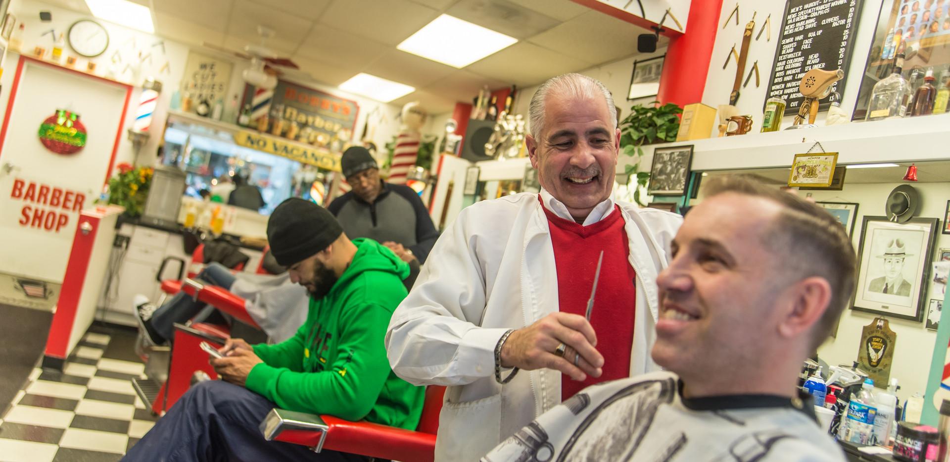 Bobby C's Classic Barbor Shop, 5th Street Arcades, Cleveland