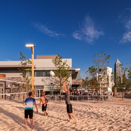 Beach Volleyball , Nuevo Restaurant