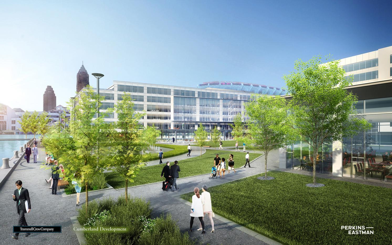 Cleveland Waterfront Development_View 01