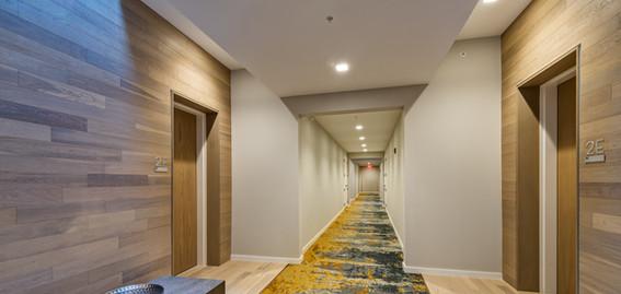 Harbor Verandas, residential corridor