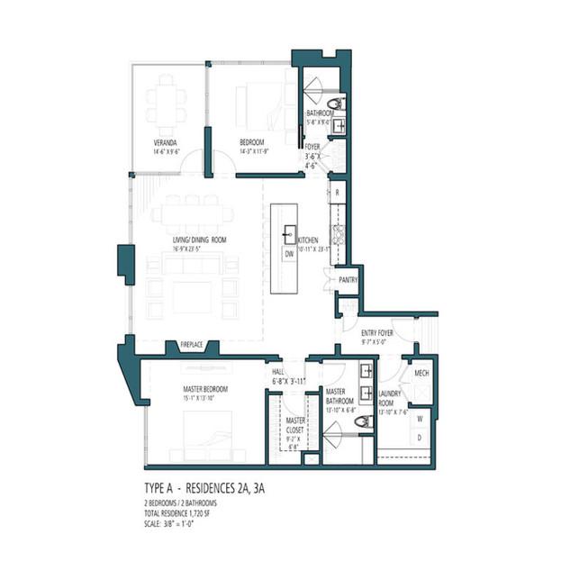 HV Type A - Residences 2A 3A