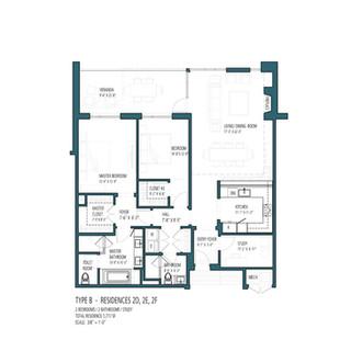 HV Type B - Residences 2D 2E 2F