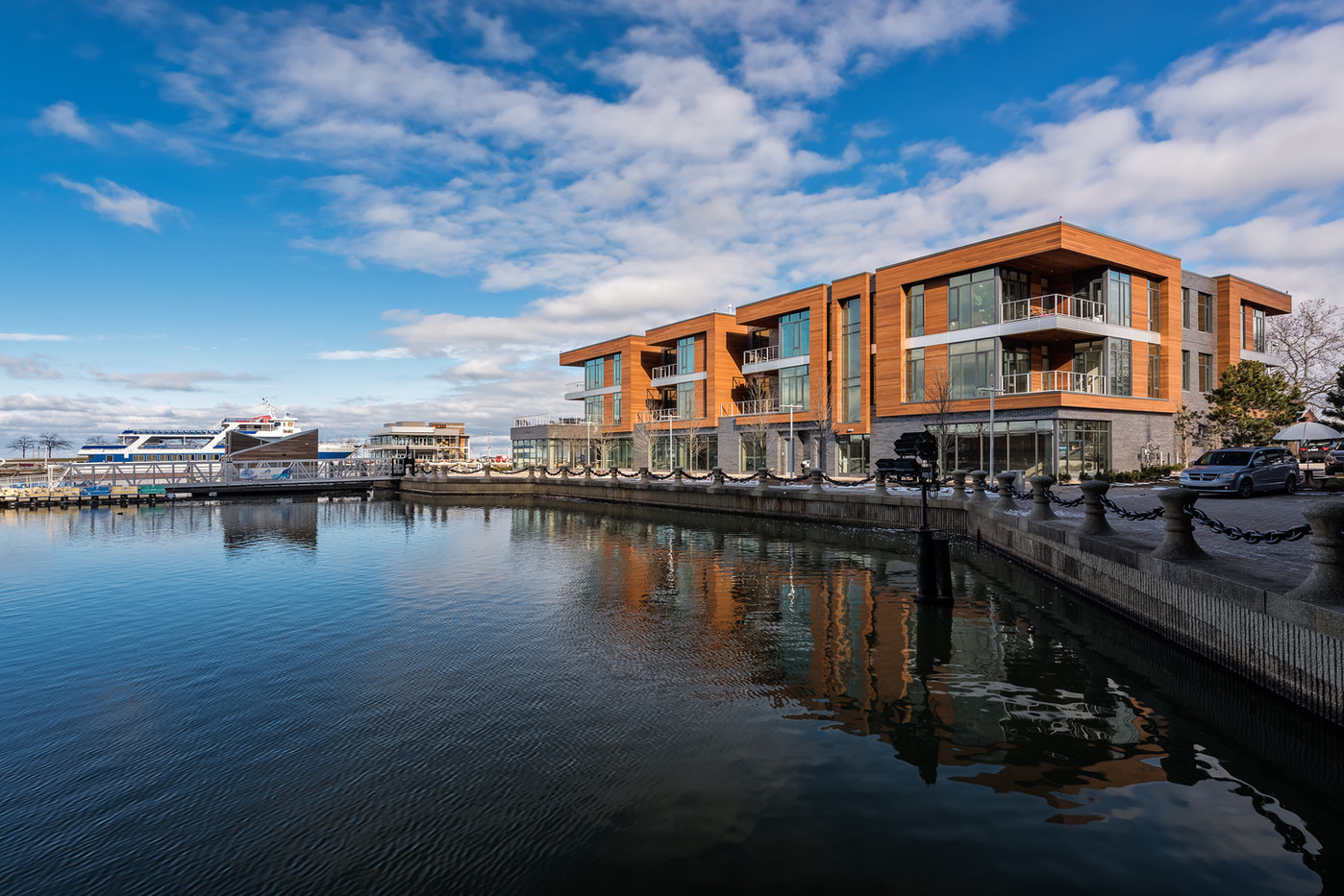 Harbor Verandas, marina view