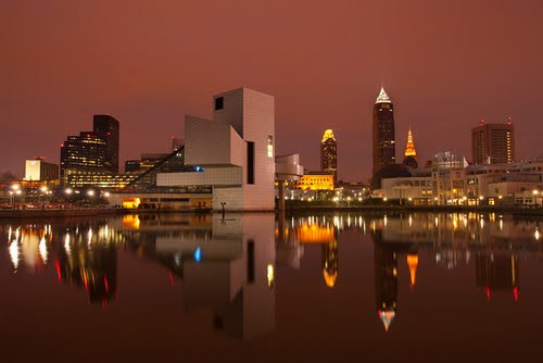 Downtown Cleveland Lakefront