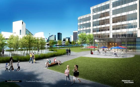Cleveland Waterfront Development_View 02