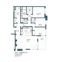 HV Type D - Residences 2H 3H