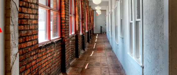 Upstairs Corridor, Baker Electric Building, Cumberland Development, Cleveland