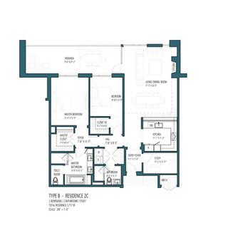 HV Type B - Residence 2C