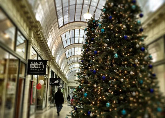 Holidays at 5th Street Arcades, Cleveland