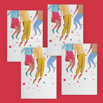 """""""Party People"""" Card Set"""