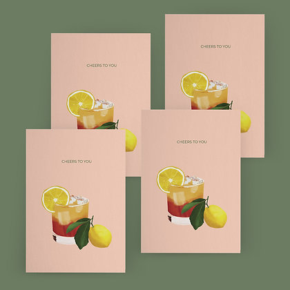"""""""Cheers To You"""" Card Set"""