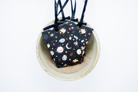 """Space"" Gift Tag"