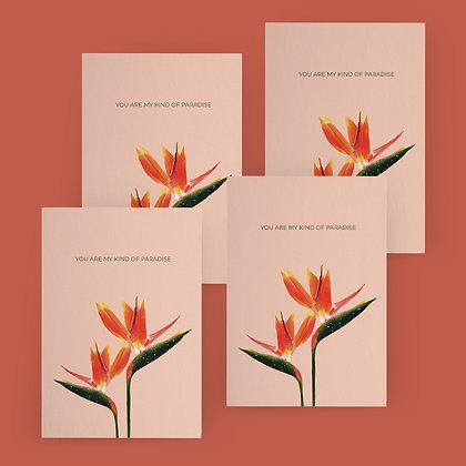 """My Paradise"" Card Set"