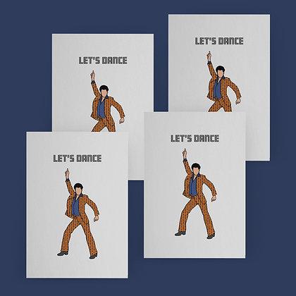 """""""Let's Dance"""" Card Set"""