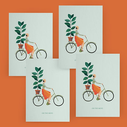 """""""On The Move"""" Card Set"""