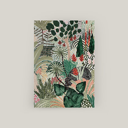 Typoriginal x Boccaccini Meadows Tropical Jungle Grußkarte Greeting Card