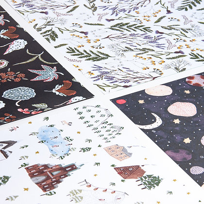 Boccaccini Meadows Wrapping Paper Set