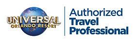 Authorized Travel Professional Logo Whit