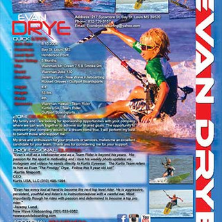 Kite Boarding Resume