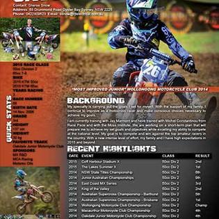 Motocross Resume