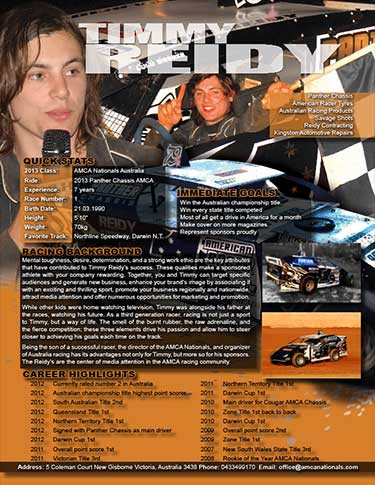Car Racing Resume