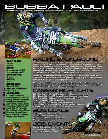 Supercross Resume