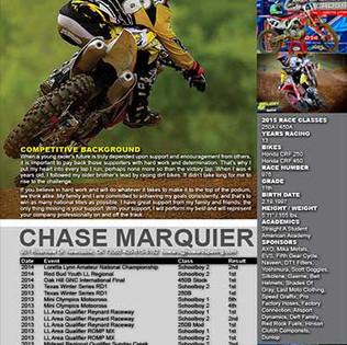Pro Motocross Resume