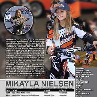 Girls Motocross Resume