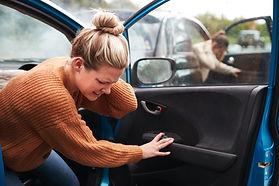Female Motorist In Crash For Crash Insur