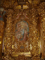 Restauración de retablo barroco