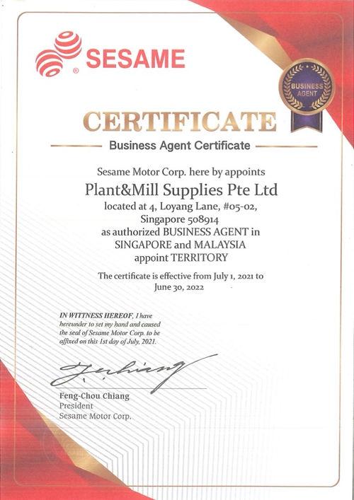 Business Agent Certificate.jpg