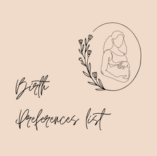 Birth Preferences List