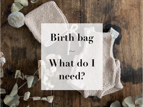 Midwife's Musings - What do I need in my birth bag?