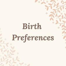 Birth Preference List