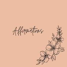Affirmation Print Outs