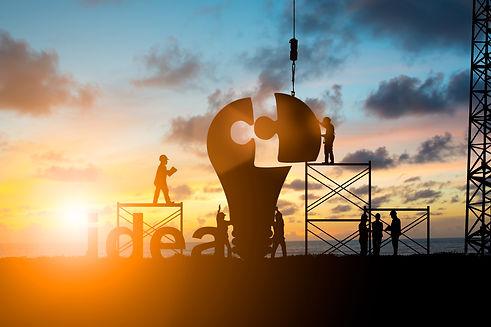 Silhouette Team business engineer work c