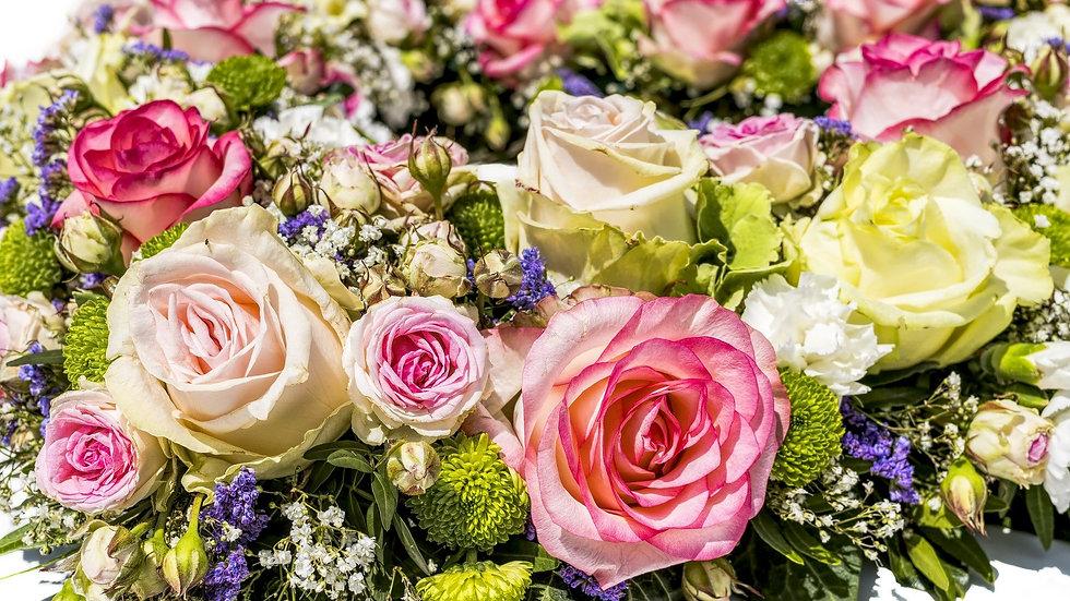 Fellner Blumen Rosenhintergrund