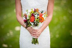 Fellner Blumen Brautstrauß natur