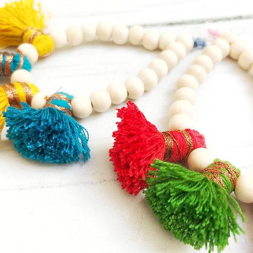 1 loop tassel bracelet