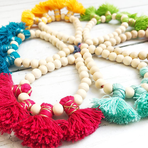 1 loop tassel bracelet / bracelet simple à pompons