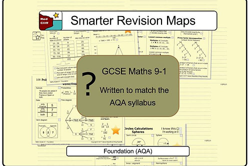 Foundation Smarter Revision Maps For Maths GCSE 9-1