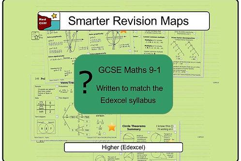 Higher Smarter Revision Maps For Maths GCSE 9-1