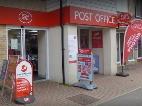 Spiral bound revision cards on sale at selected Post Offices