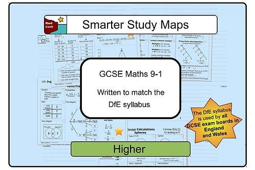 Smarter Study Maps Maths GCSE 9-1