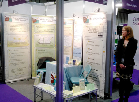 Education Show- Our stand ready to go
