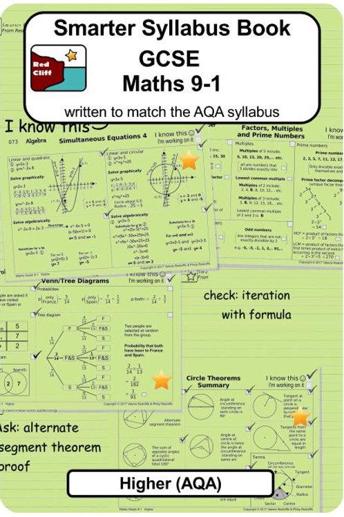 Higher Syllabus Book (choose from AQA, Edexcel or OCR)