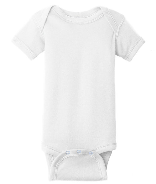 Infant Short Sleeve Baby Onesie