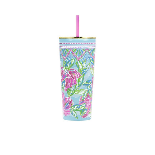 Lilly Pullitzer Tumbler with Lid